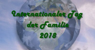 Internationaler Tag der Familie 2018