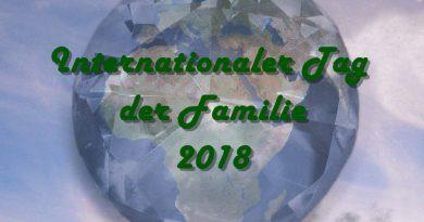 Internationaler Tag der Familie 2018